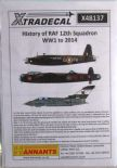 X48137  1/48 12 Sqn History to 2014 decals (6)